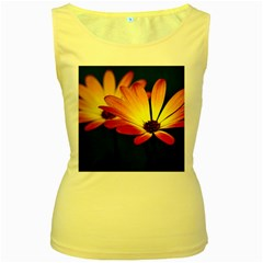 Osterspermum Womens  Tank Top (Yellow)