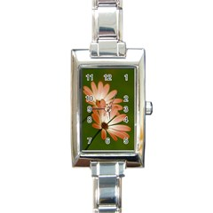 Osterspermum Rectangular Italian Charm Watch
