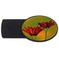 Osterspermum 1GB USB Flash Drive (Oval)