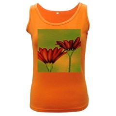 Osterspermum Womens  Tank Top (dark Colored)