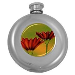 Osterspermum Hip Flask (Round)