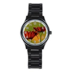 Osterspermum Sport Metal Watch (Black)
