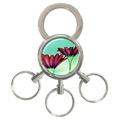 Osterspermum 3-Ring Key Chain