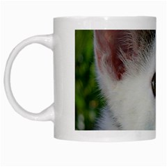 Young Cat White Coffee Mug