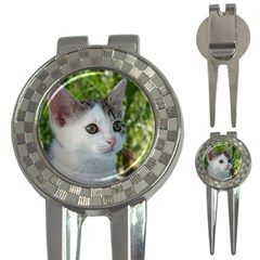 Young Cat Golf Pitchfork & Ball Marker