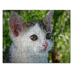 Young Cat Jigsaw Puzzle (Rectangle)