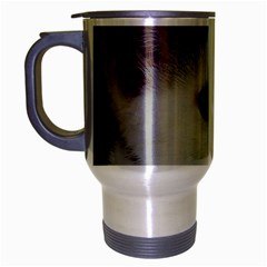 Young Cat Travel Mug (Silver Gray)