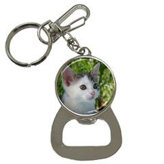 Young Cat Bottle Opener Key Chain