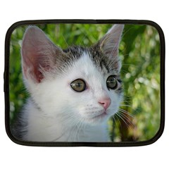 Young Cat Netbook Case (Large)