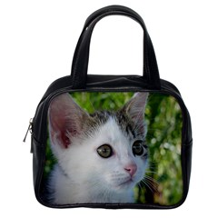 Young Cat Classic Handbag (one Side)