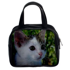 Young Cat Classic Handbag (Two Sides)