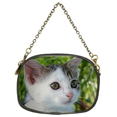 Young Cat Chain Purse (two Sided)