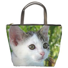 Young Cat Bucket Bag
