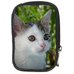 Young Cat Compact Camera Leather Case