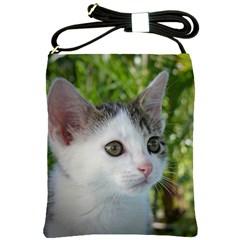 Young Cat Shoulder Sling Bag