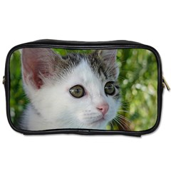 Young Cat Travel Toiletry Bag (Two Sides)
