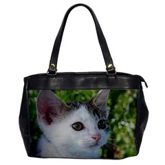 Young Cat Oversize Office Handbag (One Side)