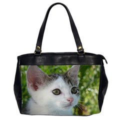 Young Cat Oversize Office Handbag (Two Sides)