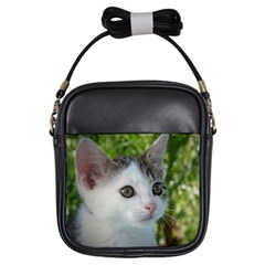 Young Cat Girl s Sling Bag