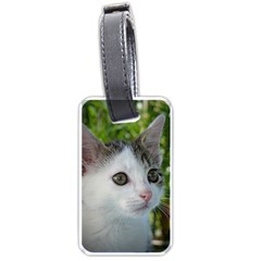 Young Cat Luggage Tag (two Sides)