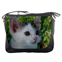 Young Cat Messenger Bag