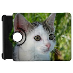 Young Cat Kindle Fire Hd 7  Flip 360 Case