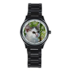 Young Cat Sport Metal Watch (black)