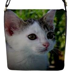 Young Cat Flap closure messenger bag (Small)