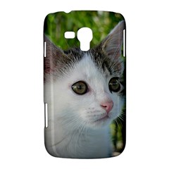 Young Cat Samsung Galaxy Duos I8262 Hardshell Case