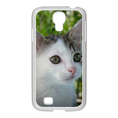 Young Cat Samsung GALAXY S4 I9500/ I9505 Case (White)