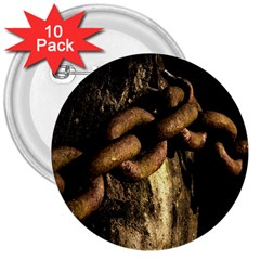 Chain 3  Button (10 pack)