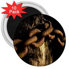 Chain 3  Button Magnet (10 pack)