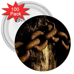 Chain 3  Button (100 Pack)