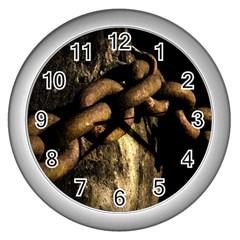 Chain Wall Clock (Silver)