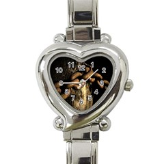 Chain Heart Italian Charm Watch