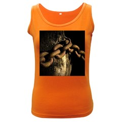 Chain Womens  Tank Top (Dark Colored)