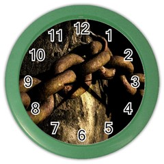 Chain Wall Clock (color)
