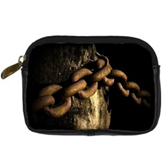Chain Digital Camera Leather Case