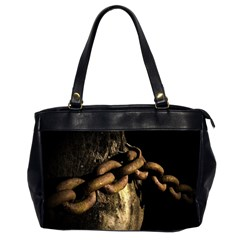 Chain Oversize Office Handbag (two Sides)