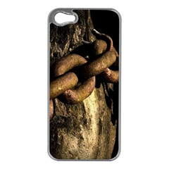 Chain Apple Iphone 5 Case (silver)
