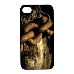 Chain Apple Iphone 4/4s Hardshell Case With Stand