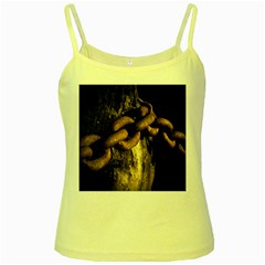 Chain Yellow Spaghetti Tank
