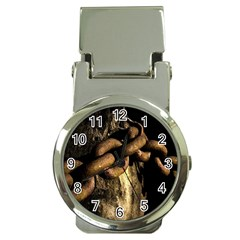 Chain Money Clip With Watch