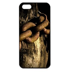 Chain Apple iPhone 5 Seamless Case (Black)