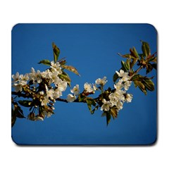 Cherry Blossom Large Mouse Pad (Rectangle)
