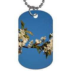 Cherry Blossom Dog Tag (two Sided)