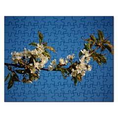 Cherry Blossom Jigsaw Puzzle (Rectangle)