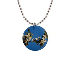 Cherry Blossom Button Necklace