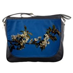 Cherry Blossom Messenger Bag