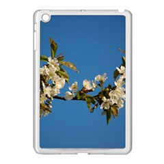 Cherry Blossom Apple iPad Mini Case (White)